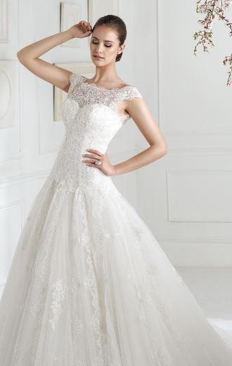 White Rose Wedding Dress 828 : Sposa wedding gown white rose bridal