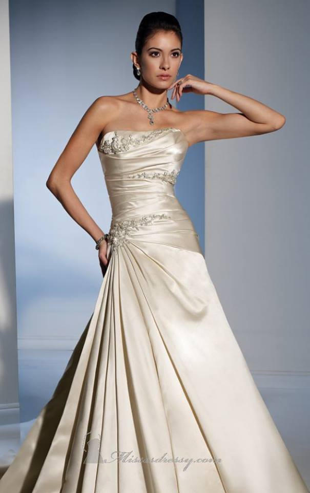 White Rose Wedding Dress Ocodea Com